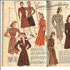 40s fashion sketches