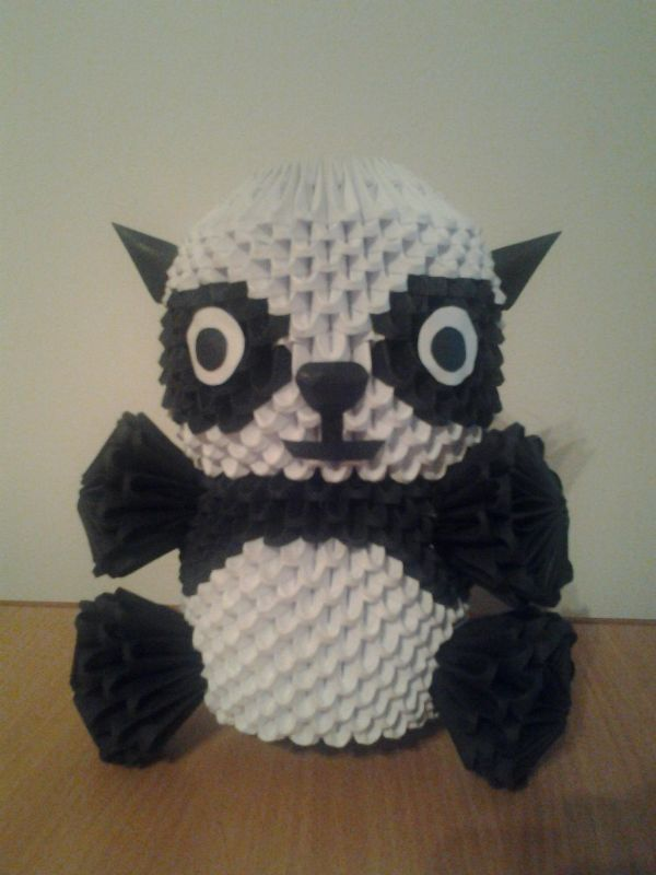 urs panda origami by InNo