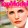 Nadja Auermann Cover of Top Model magazine