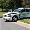 A NVCC Police Car Accident On Thursday Afternoon @ Loudoun campus
