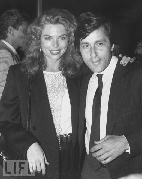Alexandra King and Ilie Nastase